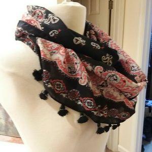 Dressy infinity scarf
